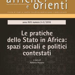 Le pratiche dello Stato in Africa Articoli in Pdf