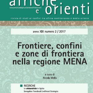 Confini e zone di frontiera nella regione Mena